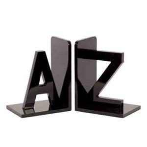 Alphabet Bookends