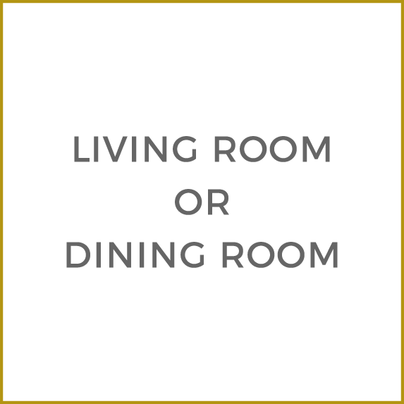 Living Room or Dining Room