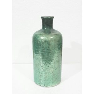 seaspray aqua coastal vase
