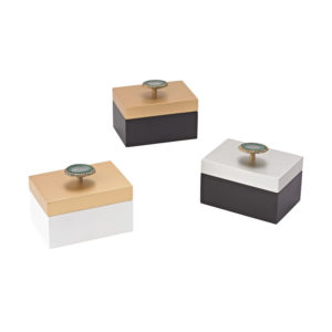 agate decorative box set