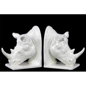 Rhino Bookends Home Decor