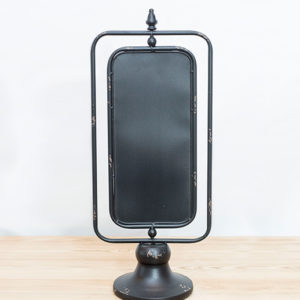 tidy iron swivel chalkboard