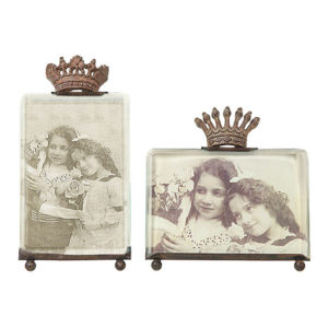 Crowned Photo Frame