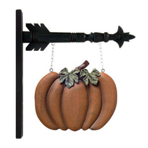 Arrow Decor Pumpkin