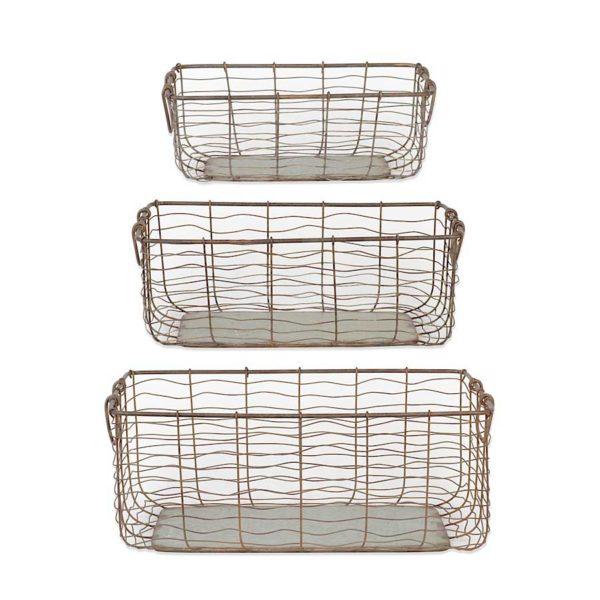 wire nesting baskets