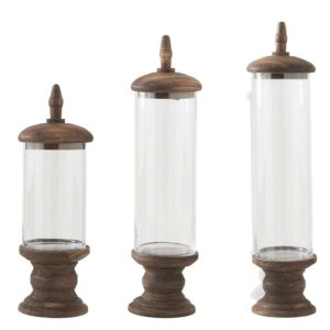 Glass Cylinder Containers