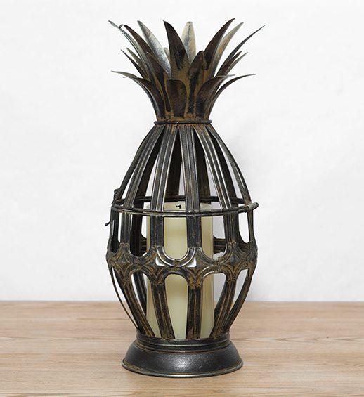 metal pineapple lantern