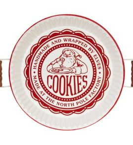 milk and cookies tray