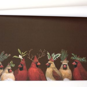 Cardinal Party Paper Placemat