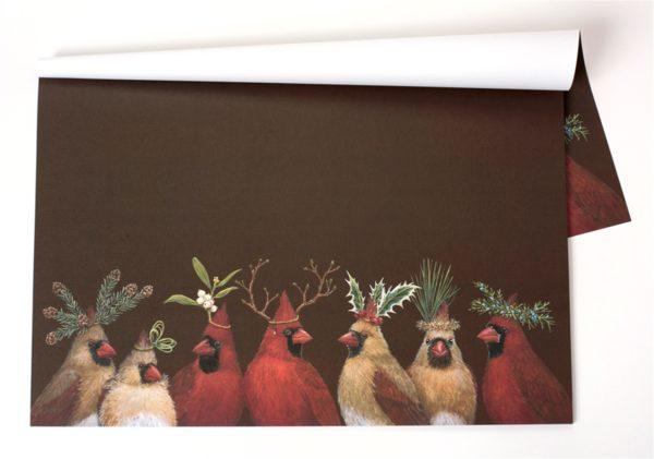 Cardinal Party Paper Placemat