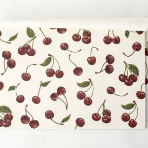 Cherries Paper Placemat