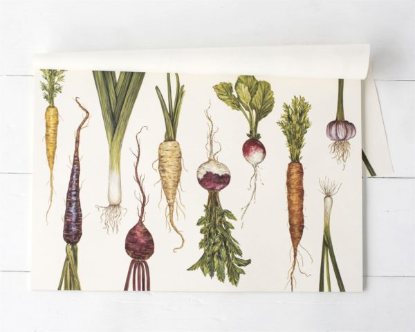 Natural Farmer's Market Paper Placemat