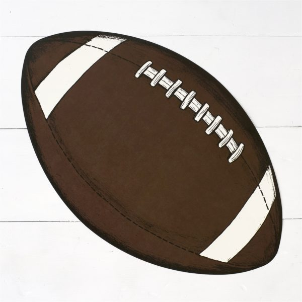 Football Paper Placemat