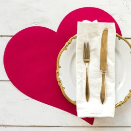 Heart Paper Placemat