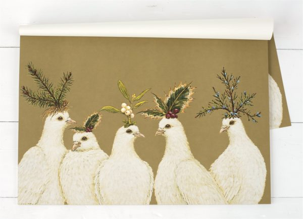 Peaceful Doves Paper Placemat