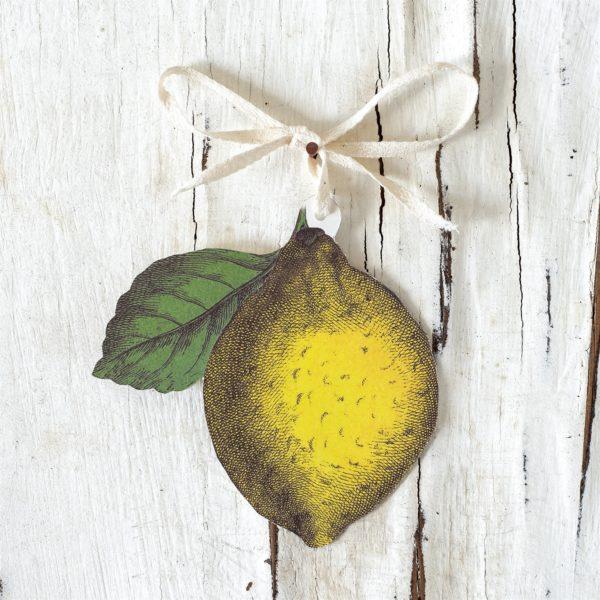Lemon Gift Tag