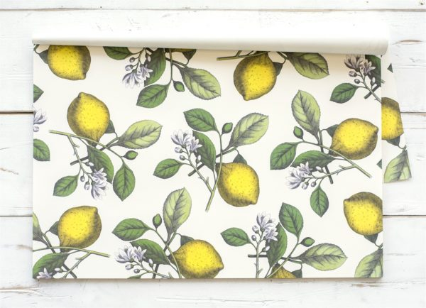 Lemons Paper Placemat