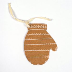 Mitten Gift Tag