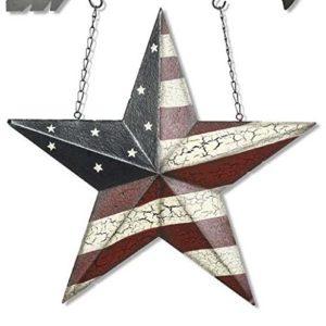 metal americana star hanging arrow replacement sign