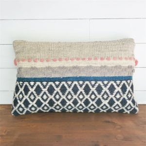 Foreside Hand Woven Taylor Decorative Pillow
